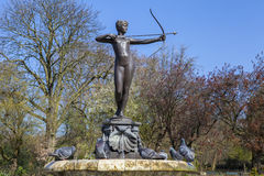 Artemis Fountain in Hyde Park Stock Photography