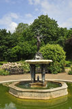 Artemis fountain. In rose garden, Hyde Park, London Stock Photography