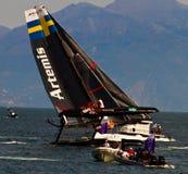 Artemis Racing Fotografie Stock Libere da Diritti