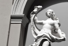 Artemis statue in Valencia Stock Photography