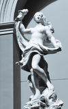 Artemis statue in Valencia Royalty Free Stock Photography