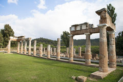 Artemis Temple em Grécia imagens de stock royalty free