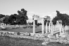 Artemis Temple at Greece Stock Images