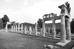 Artemis Temple at Greece Royalty Free Stock Photos