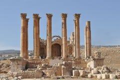 Artemis temple,Jerash. Artemis temple in Jerash city Stock Photo