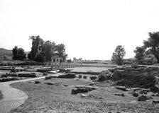 Artemis Temple på Grekland Arkivbild
