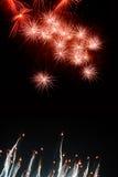 Arten der Feuerwerke Stockbilder
