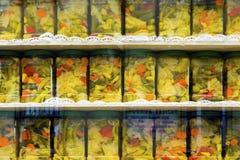 Arten Essiggurken-Glas Stockfotografie