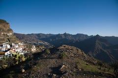 Artenara χωριό στοκ εικόνες με δικαίωμα ελεύθερης χρήσης