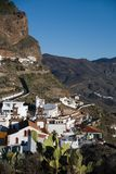 Artenara χωριό στοκ φωτογραφία με δικαίωμα ελεύθερης χρήσης