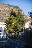 Artenara dorp royalty-vrije stock afbeelding