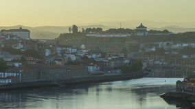 Arter Sunrise at the most emblematic area of Douro stock video footage
