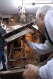 Artesãos de San Gregorio Armeno Foto de Stock