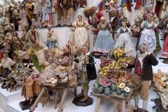 Artesãos de San Gregorio Armeno Fotografia de Stock Royalty Free