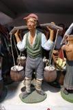Artesãos de San Gregorio Armeno Foto de Stock Royalty Free