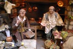 Artesãos de San Gregorio Armeno Imagem de Stock