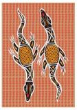Artes aborígenes Fotografia de Stock Royalty Free