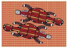 Artes aborígenes Imagens de Stock