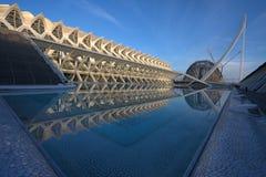 artes ciencias ciudad de las Valencia y zdjęcie royalty free