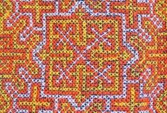 Artes coloridos de la tela Imagen de archivo
