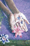 Artes da pintura mural de Philadelphfia Fotos de Stock