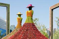 Artes da rua no dia nacional de China, Pequim fotos de stock royalty free