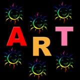 Artes de Art Shows Draw Artistic And de los niños Imagenes de archivo