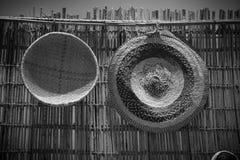 Artes de Bahrein en blanco y negro Imagenes de archivo