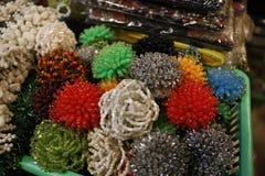 Artes de la belleza del mercado del Balinese Fotos de archivo libres de regalías