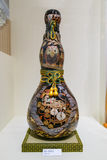 Artes de la calabaza en la galería japonesa del Museo Nacional Imagen de archivo