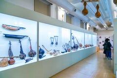 Artes de la calabaza en la galería japonesa del Museo Nacional Foto de archivo libre de regalías
