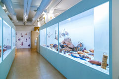 Artes de la calabaza en la galería japonesa del Museo Nacional Fotos de archivo