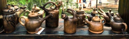 Artes de la cerámica Fotografía de archivo