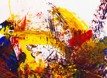 Artes de la pintura en la textura de papel del extracto del fondo fotos de archivo