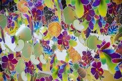Artes de papel coloridas Fotos de Stock Royalty Free