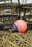 Artes de pesca foto de archivo libre de regalías