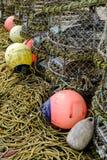 Artes de pesca fotografía de archivo libre de regalías