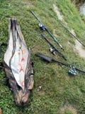 Artes de pesca Foto de Stock Royalty Free