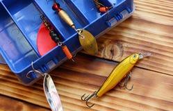 Artes de pesca do brinquedo do ` s dos homens imagens de stock