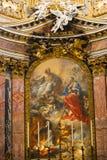 Artes de Saint Mary Major Basilica - Itália Imagens de Stock
