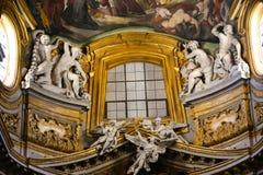 Artes del rBasilica de Mary Majo del santo - Italia Fotos de archivo