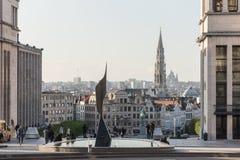 Artes do DES de Monts em Bruxelas, Bélgica fotografia de stock royalty free