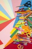 Artes e fontes do ofício imagem de stock