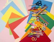 Artes e fontes do ofício imagens de stock