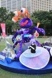 Artes en el evento de Mardi Gras del parque en Hong Kong Fotos de archivo libres de regalías