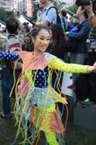 Artes en el evento de Mardi Gras del parque en Hong Kong Fotografía de archivo libre de regalías