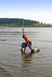 Artes marciais?.rapier Fotos de Stock