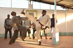 Artes marciales Foto de archivo