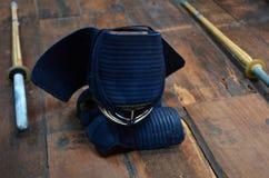 """Artes marciales japoneses del †de Kendo """" Imágenes de archivo libres de regalías"""