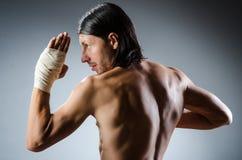 Artes marciales rasgados expertos Imagen de archivo libre de regalías